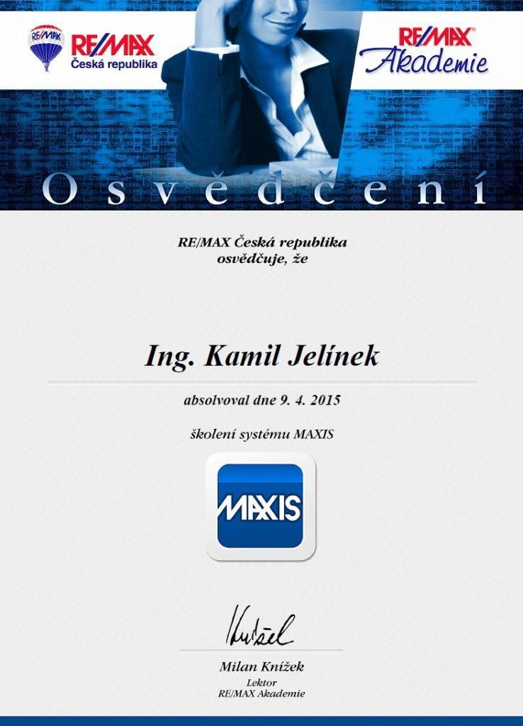RE/MAX Certifikát